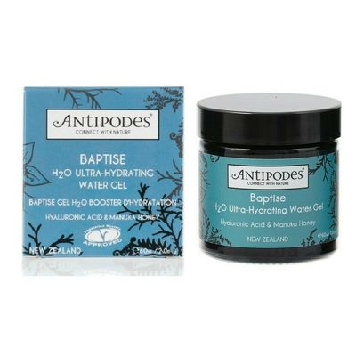 NEW Antipodes Baptise H2O Ultra-Hydrating Water Gel 60ml with Hyaluronic Acid