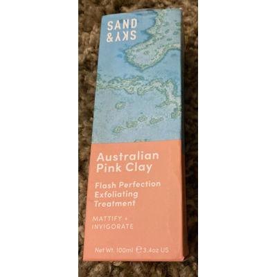 SAND & SKY Australian Pink Clay Flash Perfection Exfoliating Treatment NEW
