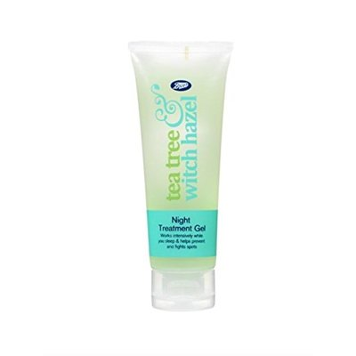 Boots Tea Tree & Witch Hazel Night Treatment Gel 75ml