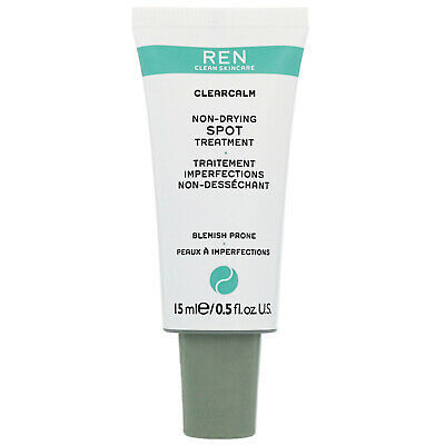 REN Clean Skincare Face ClearCalm 3 Non-Drying Spot Treatment 15ml
