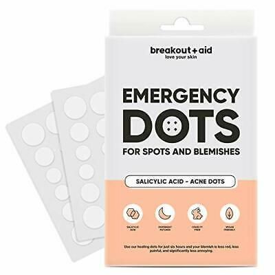 Emergency patches for spots and blemish by Breakout+Aid |Salicylic acid|VEGAN